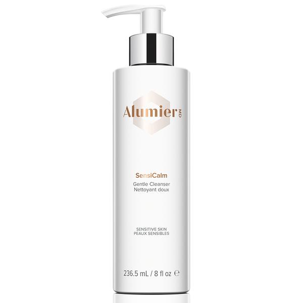 white 265.5 milliliter bottle of AlumierMD SensiCalm